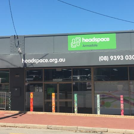 External shot of headspace Armadale building