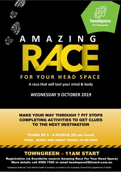 Flyer for headspace day