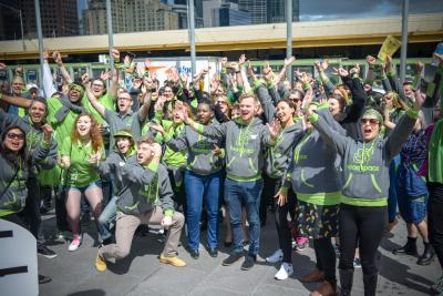 Team photo from the launch of headspace day.